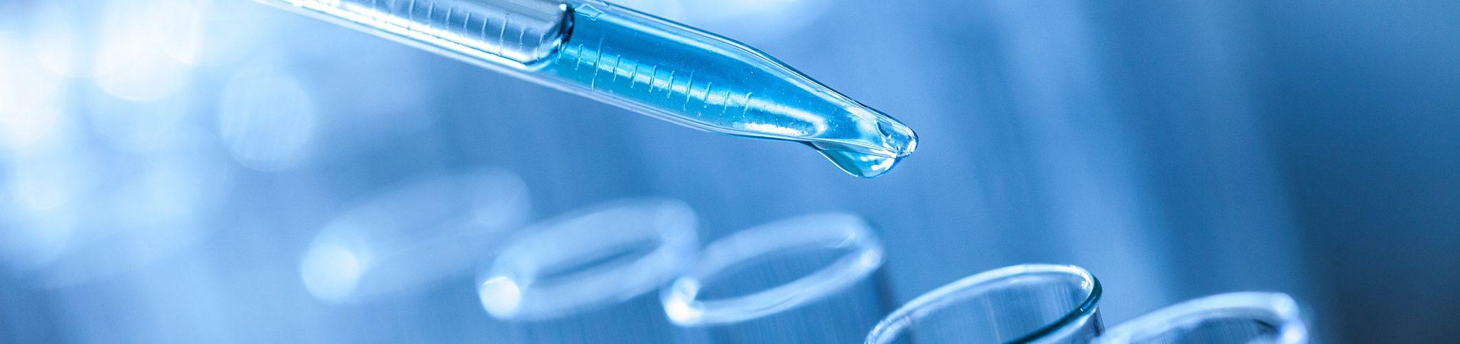Science laboratory test tubes, laboratory equipment